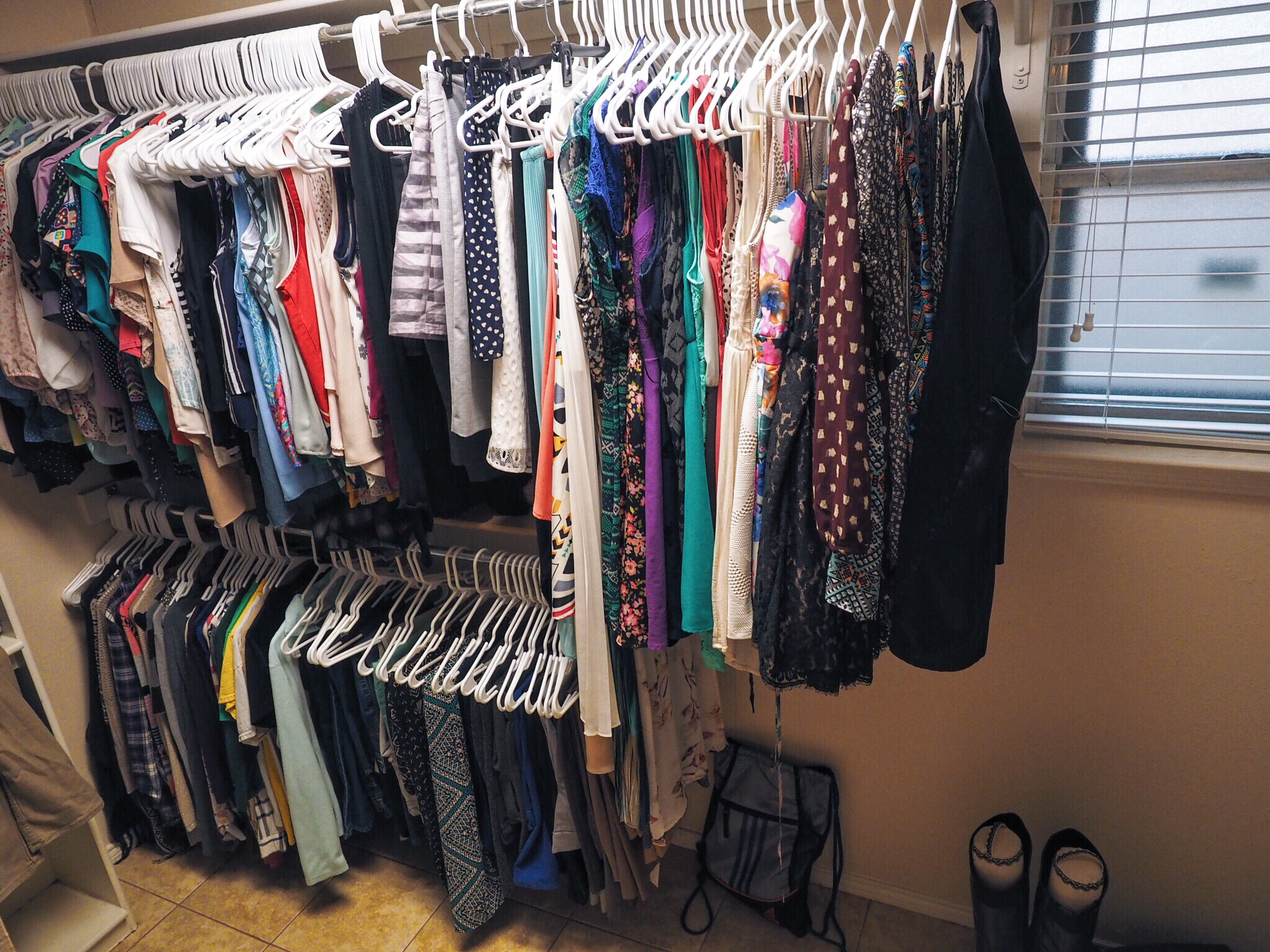 How to organize your closet love you more too north for How do you organize your closet